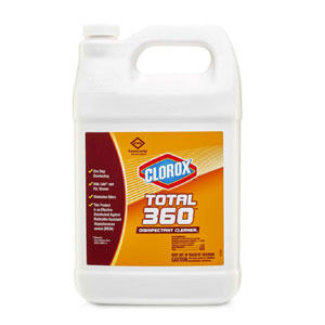 Clorox Total 360 Disinfectant Cleaner SKU#CLO31650, Clorox Total 360 Disinfectant Cleaner SKU#CLO31650