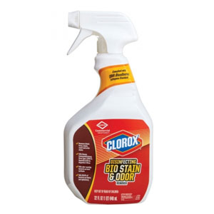 Clorox Disinfecting Bio Stain & Odor Remover 32Oz Spray SKU#CLO31903, Clorox Disinfecting Bio Stain & Odor Remover 32Oz Spray SKU#CLO31903