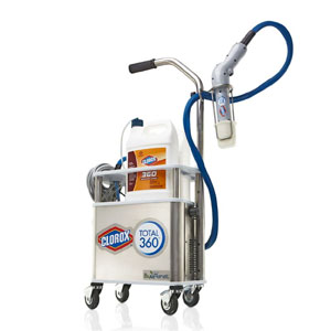 Clorox Total 360 Electrostatic Sprayer System SKU#CLO60010, Clorox Total 360 Electrostatic Sprayer System SKU#CLO60010