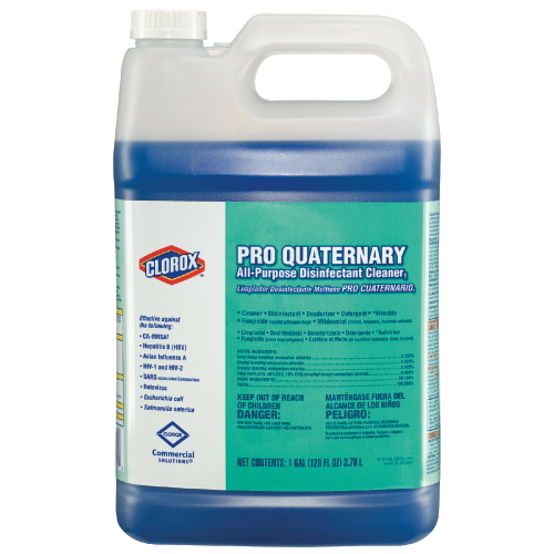 Clorox Pro Quaternary All-Purpose Disinfetant Cleaner SKU#CLO30182, Clorox Pro Quaternary All-Purpose Disinfetant Cleaner SKU#CLO30182
