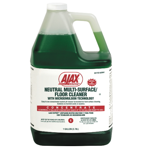 Ajax Expert Neutral Multi-Surface-Floor Cleaner SKU#CPC04944CT, Colgate-Palmolive Ajax Expert Neutral Multi-Surface-Floor Cleaner SKU#CPC04944CT