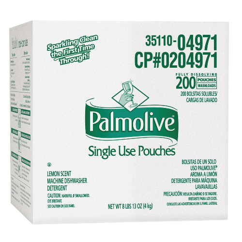 Colgate-Palmolive Single Use Pouches Dishwasher Detergent SKU#CPC04971, Colgate-Palmolive Single Use Pouches Machine Dishwasher Detergent SKU#CPC04971