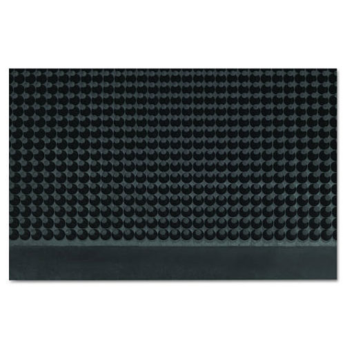 Black Mat-A-Dor Rubber Fingertip Wiper-Scraper Mat 3x6Ft SKU#CROMAFG62BLA, Crown Mats Black Mat-A-Dor Rubber Fingertip Wiper-Scraper Mat 3x6Ft SKU#CROMAFG62BLA