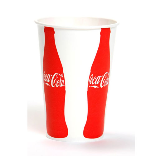 Coca Cola 12oz Paper Cold Cups VIS SKU#GPC12FP1727, Georgia Pacific Coca Cola 12oz Paper Cold Cups VIS SKU#GPC12FP1727