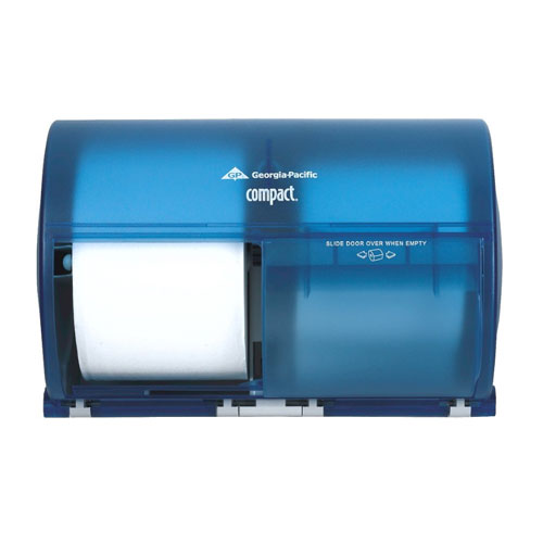 Compact SideBySide 2 Roll Toilet Roll Dispenser SKU#GPC56783, Georgia Pacific Compact SideBySide Double Roll Bathroom Tissue Dispenser SKU#GPC56783