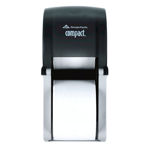 Compact Vertical 2 Roll Coreless Tissue Dispenser SKU#GPC56790, Georgia Pacific Compact Vertical Double Roll Coreless Tissue Dispenser SKU#GPC56790