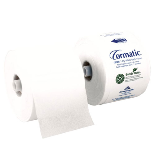 Cormatic 1Ply High Capacity EPA Compliant Bathroom Tissue SKU#GPC12500, Georgia Pacific Cormatic 1Ply High Capacity EPA Compliant Bathroom Tissue SKU#GPC12500