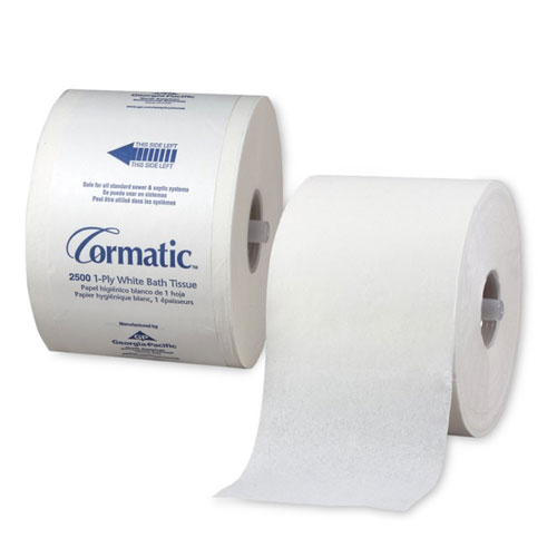 Cormatic 1Ply High Capacity Bathroom Tissue SKU#GPC2500, Georgia Pacific Cormatic 1Ply High Capacity Bathroom Tissue SKU#GPC2500