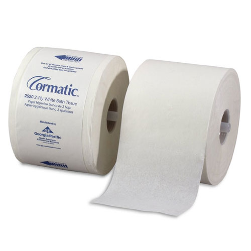 Cormatic 2Ply Shell Embossed Bathroom Tissue SKU#GPC2520, Georgia Pacific Cormatic 2Ply Shell Embossed Bathroom Tissue SKU#GPC2520