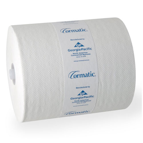 Cormatic EPA Hardwound Roll Towels SKU#GPC29500, Georgia Pacific Cormatic EPA Hardwound Roll Towels SKU#GPC29500