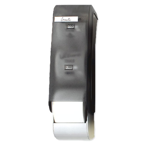 Cormatic Vertical 3 Roll Toilet Roll Dispenser SKU#GPCTS0350N, Georgia Pacific Cormatic Vertical 3 Roll Bathroom Tissue Dispenser SKU#GPCTS0350N