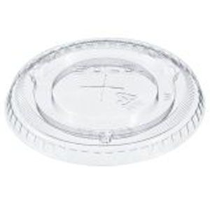Solo Clear PET Lids For Plastic Cups SKU# DA 600TS, Dart Solo Clear PET Lids For Plastic Cups SKU# DA 600TS