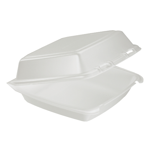 Dart Foam Hinged Lid Carryout Container SKU#DCC205HT1, Dart Foam Hinged Lid Carryout Containers SKU#DCC205HT1
