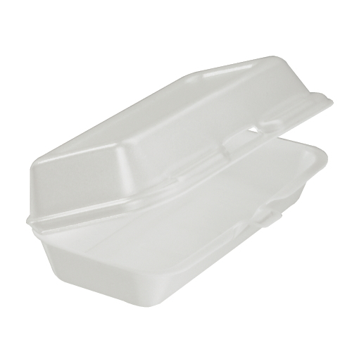 Dart Foam Hinged Lid Carryout Container SKU#DCC72HT1, Dart Foam Hinged Lid Carryout Containers SKU#DCC72HT1