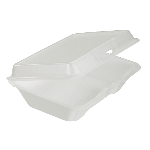 Dart Foam Hinged Lid Carryout Container SKU#DCC99HT1, Dart Foam Hinged Lid Carryout Containers SKU#DCC99HT1