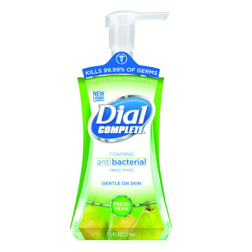 Dial Fresh Pear Dial Complete Foaming Soap Pump Bottle 7.5 Oz SKU#DIA02934, Dial Fresh Pear Dial Complete Foaming Soap Pump Bottle 7.5 Oz SKU#DIA02934