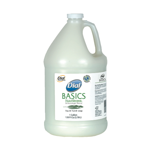 Dial Basics HypoAllergenic Liquid Soap - Soap Dispenser Refills, Pour Bottles & Pump Bottles