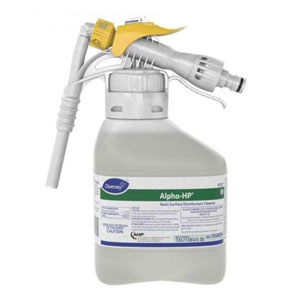 Alpha HP Multi-Surface Disinfectant Cleaner 1.5 Liter RTD SKU#Diversey-5549254, Diversey Alpha HP Multi-Surface Disinfectant Cleaner 1.5 Liter RTD SKU#Diversey-5549254