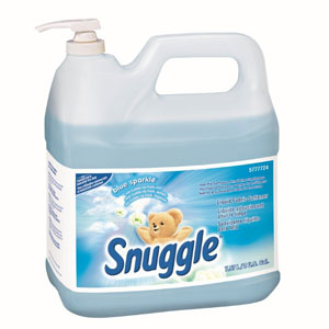 Snuggle Fabric Softener 2 Gallon w Pump SKU#DIVERSEY-5777724, Diversey Snuggle Fabric Softener 2 Gallon w Pump SKU#DIVERSEY-5777724