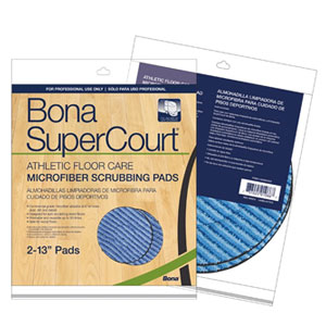 Bona SuperCourt Athletic Floor Care Scrubbing Pads 13in SKU#DIV-AX0003501, Diversey Bona SuperCourt Athletic Floor Care Scrubbing Pads 13in SKU#DIV-AX0003501