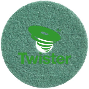 Diversey Twister TM-MC GREEN 24in Diamond Floor Pads SKU#DIVERSEY-DD7521223, Diversey Twister TM-MC GREEN 24in Diamond Floor Pads SKU#DIVERSEY-DD7521223