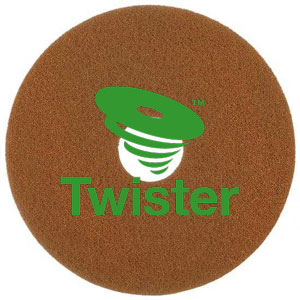 Diversey Twister TM-MC ORANGE 13in HT Diamond Floor Pads SKU#DIVERSEY-DD7519288, Diversey Twister TM-MC ORANGE 13in HT Diamond Floor Pads SKU#DIVERSEY-DD7519288