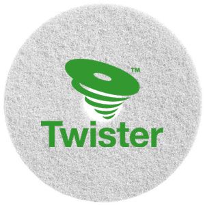 Diversey Twister TM-MC WHITE 11in Diamond Floor Pads SKU#DIVERSEY-DD5866831, Diversey Twister TM-MC WHITE 11in Diamond Floor Pads SKU#DIVERSEY-DD5866831
