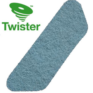 Diversey Twister TM-MC BLUE S-Pad Diamond Floor Pads SKU#DIVERSEY-DD7519298, Diversey Twister TM-MC BLUE HT S-Pad Diamond Floor Pads SKU#DIVERSEY-DD7519298