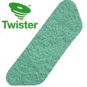 Diversey Twister TM-MC GREEN S-Pad Diamond Floor Pads SKU#DIVERSEY-DD5871045, Diversey Twister TM-MC GREEN S-Pad Diamond Floor Pads SKU#DIVERSEY-DD5871045