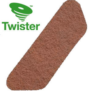 Diversey Twister TM-MC ORANGE S-Pad Diamond Floor Pads SKU#DIVERSEY-DD7519297, Diversey Twister TM-MC ORANGE HT S-Pad Diamond Floor Pads SKU#DIVERSEY-DD7519297