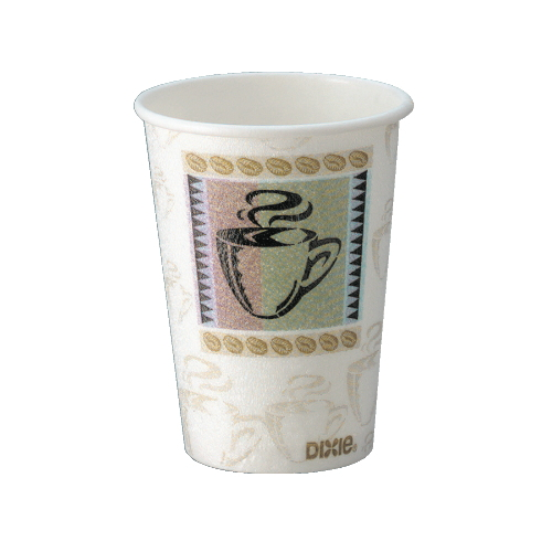 Dixie PerfecTouch 10oz Insulated Paper Cups WiseSize SKU#DIX5310DX, Georgia Pacific Dixie PerfecTouch 10oz Insulated Paper Cups WiseSize SKU#DIX5310DX