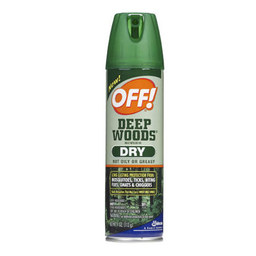 Off! Deep Woods Dry Aerosol Insect Repellent 4 Oz SKU#DRKCB717649, Diversey Off! Deep Woods Dry Aerosol Insect Repellent 4 Oz SKU#DRKCB717649