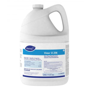 Diversey Virex II 256 One-Step Disinfectant Cleaner And Deodorant 4x 1Gallon SKU#Diversey-04332, Diversey Virex II 256 One-Step Disinfectant Cleaner And Deodorant 4x 1Gallon SKU#Diversey-04332