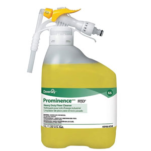 Prominence Heavy-Duty Floor Cleaner 5 Liter RTD SKU#Diversey-94996458, Diversey Prominence Heavy-Duty Floor Cleaner 5 Liter RTD SKU#Diversey-94996458
