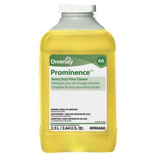 Prominence Heavy-Duty Floor Cleaner 2.5 Liter J-Fill SKU#Diversey-94996466, Diversey Prominence Heavy-Duty Floor Cleaner 2.5 Liter J-Fill SKU#Diversey-94996466
