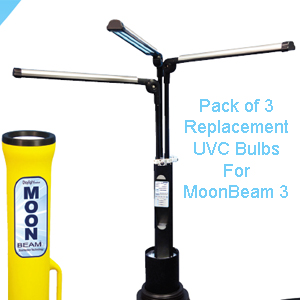 Diversey Replacement Bulb Set For MoonBeam 3 UVC Disinfection Device SKU#Diversey-MOON3-UVCBULBS, Diversey Replacement Bulb Set For MoonBeam 3 UVC Disinfection Device SKU#Diversey-MOON3-UVCBULBS