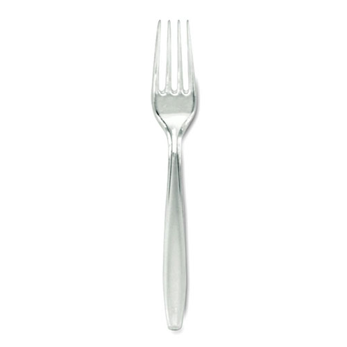 Dixie HeavyWeight Polystyrene Fork SKU#DIXFH017, Dixie HeavyWeight Polystyrene Fork SKU#DIXFH017