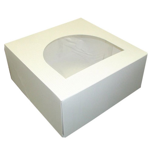 Dixie 9in Pinstripe Round Windowed Cake Boxes SKU#DIXPIN9X9X4, Dixie 9in Pinstripe Round Windowed Cake Boxes SKU#DIXPIN9X9X4