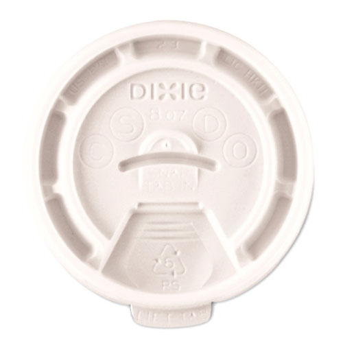 Dixie Lid Tear Back fits 8oz Paper Hot Cup SKU#DIXTB9538X, Dixie Lid Tear Back fits 8oz Paper Hot Cup SKU#DIXTB9538X