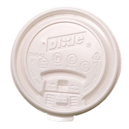 Dixie Lid Tear Back 10-20oz Paper Hot Cups SKU#DIXTB9542, Dixie Lid Tear Back 10-20oz Paper Hot Cups SKU#DIXTB9542