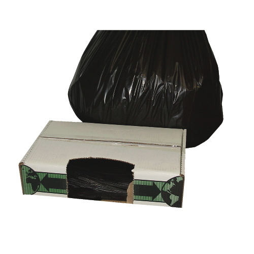 Flexsol LLD Economy Ecosac Can Liner Black SKU#ESSECO60H, Flexsol LLD Economy Ecosac Can Liners Black SKU#ESSECO60H