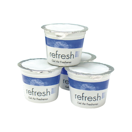 Fresh Products Refresh Gel Air Fresheners SKU#FRS12-4G-LE, Fresh Products Refresh Gel Air Freshener SKU#FRS12-4G-LE