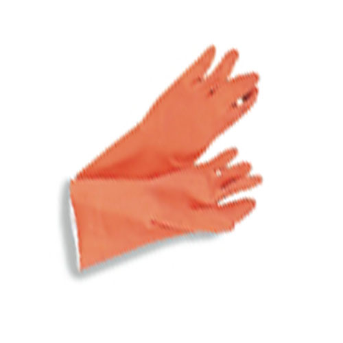 Galaxy Orange Flock-Lined Glove SKU#GLX244L, Gallonaxy Orange Flock-Lined Gloves SKU#GLX244L