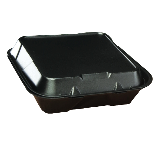 Genpak Foam Hinged Lid Carryout Container SKU#GNPSN200-3L, Genpak Foam Hinged Lid Carryout Containers SKU#GNPSN200-3L