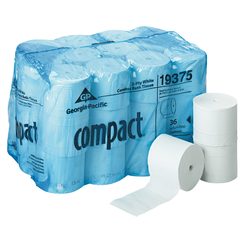 Georgia Pacific Compact Coreless Toilet Tissue