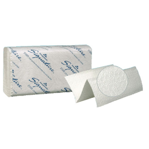 Signature Premium 2-Ply Multi-Fold Hand Towel SKU#GPC210, Georgia Pacific Signature Premium Two-Ply Multi-Fold Hand Towels SKU#GPC210