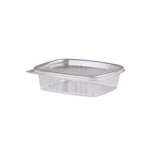 8 Oz Clear Deli Container With Hinged Lid 200 SKU#GNPAD08, Genpak 8 Oz Clear Deli Container With Hinged Lid 200 SKU#GNPAD08