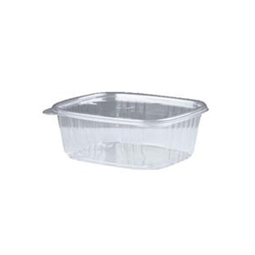 12 Oz Clear Deli Container With Hinged Lid 200 SKU#GNPAD12, Genpak 12 Oz Clear Deli Container With Hinged Lid 200 SKU#GNPAD12