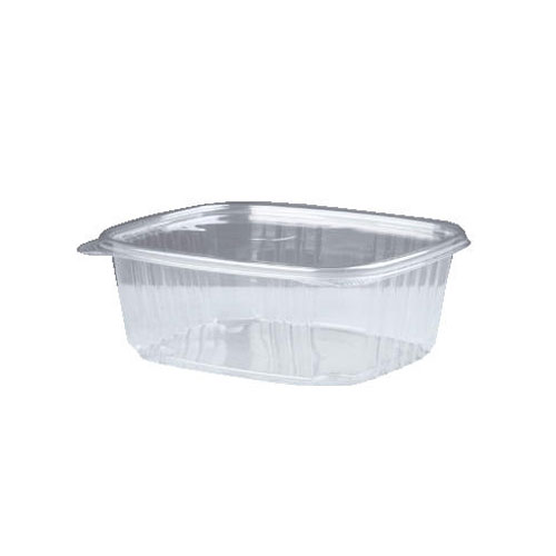 16 Oz Clear Deli Container With Hinged Lid 200 SKU#GNPAD16, Genpak 16 Oz Clear Deli Container With Hinged Lid 200 SKU#GNPAD16