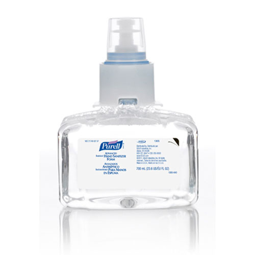 Purell Advanced LTX Instant Hand Sanitizer Foam 700ml SKU#GOJ1305-03, GOJO Purell Advanced LTX Instant Hand Sanitizer Foam 700ml SKU#GOJ1305-03